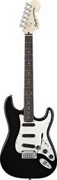 Электрогитара FENDER SQUIER DELUXE STRAT HOT RAILS BLACK