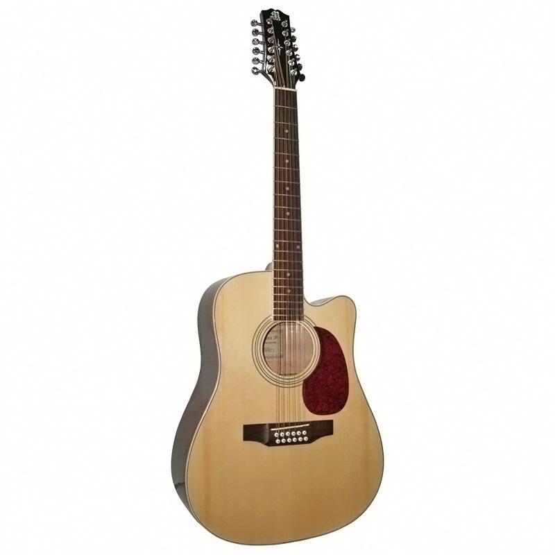 Электроакустическая гитара rockdale sdneq dreadnought