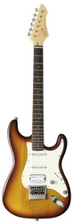 Электрогитара VGS RoadCruiser VST-110 Pro Satin Faded Tobacco Burst