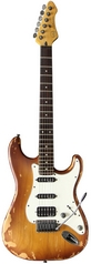 Электрогитара VGS RoadCruiser VST-110 Select Relic Tobacco Burst