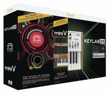 MIDI клавиатура Arturia KeyLab 25 Producer Pack