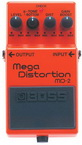 Эффект Mega Distortion Boss MD2