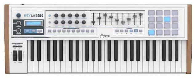 MIDI клавиатура Arturia KeyLab 49 Black Edition