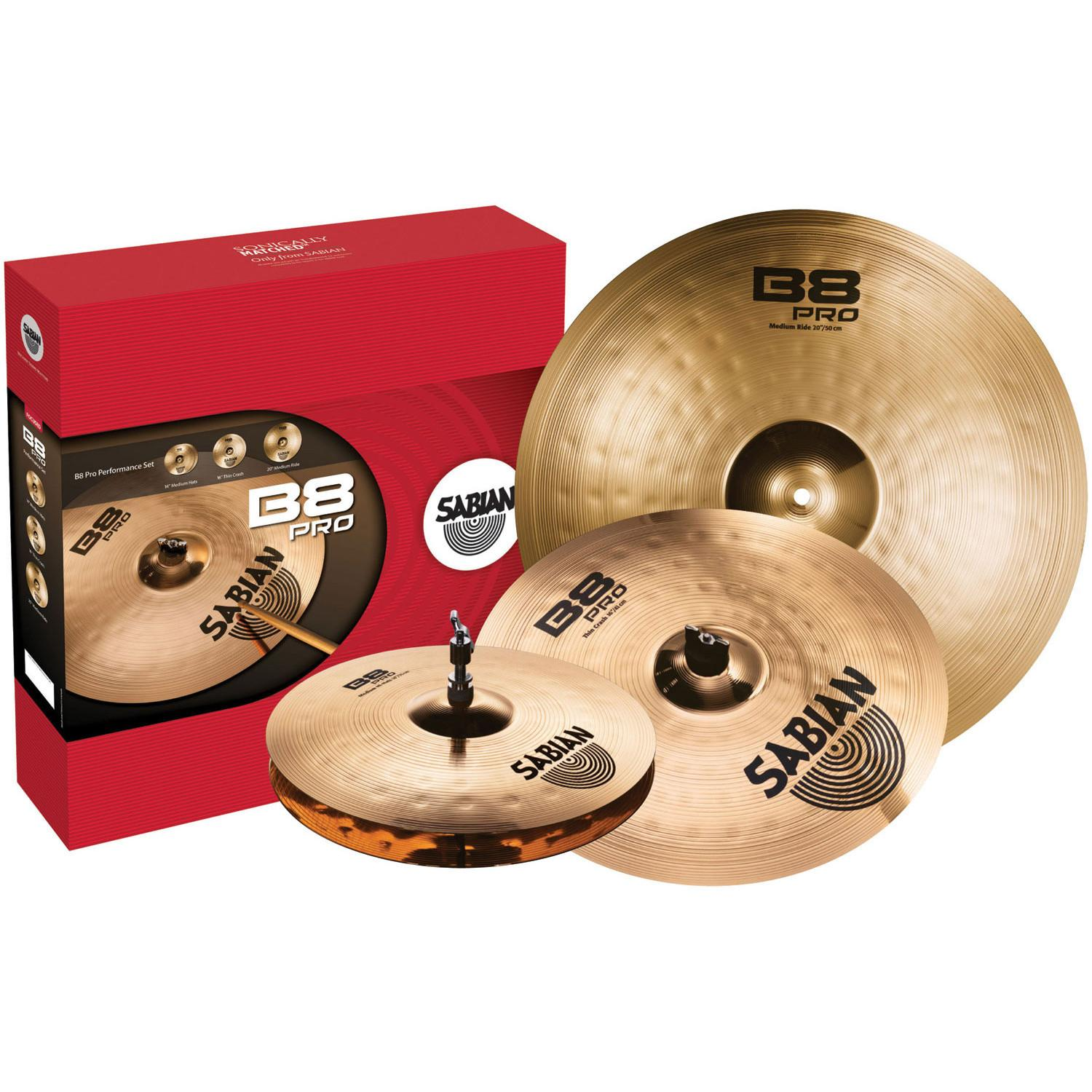 Комплект тарелок SABIAN 35003B Performance Set