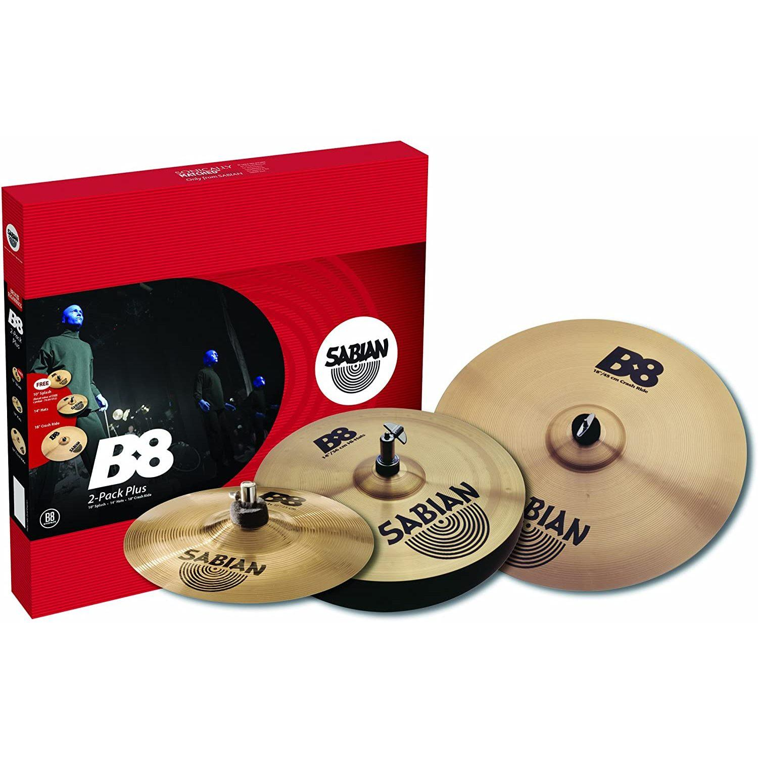 Комплект тарелок SABIAN 45002P 2-Pack Plus