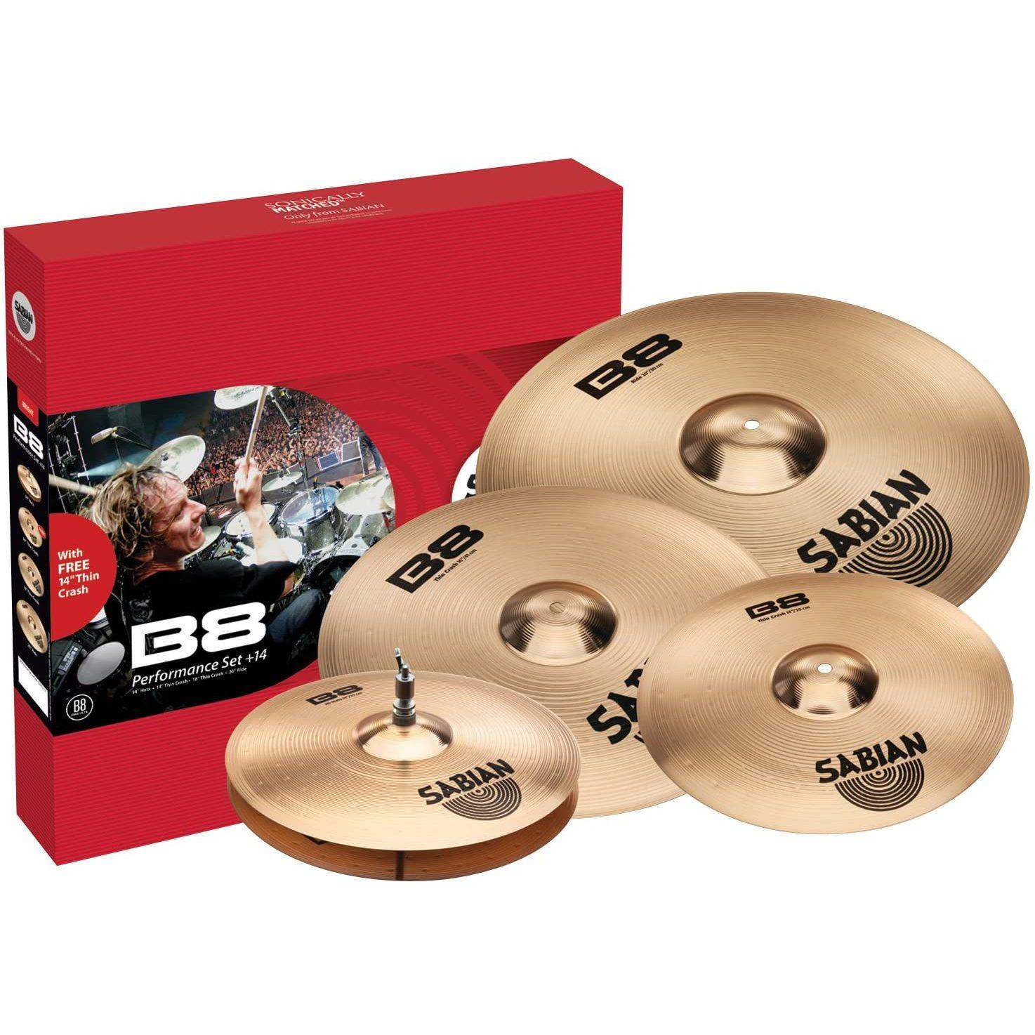 Комплект тарелок SABIAN 45003-14  Performance Set +14