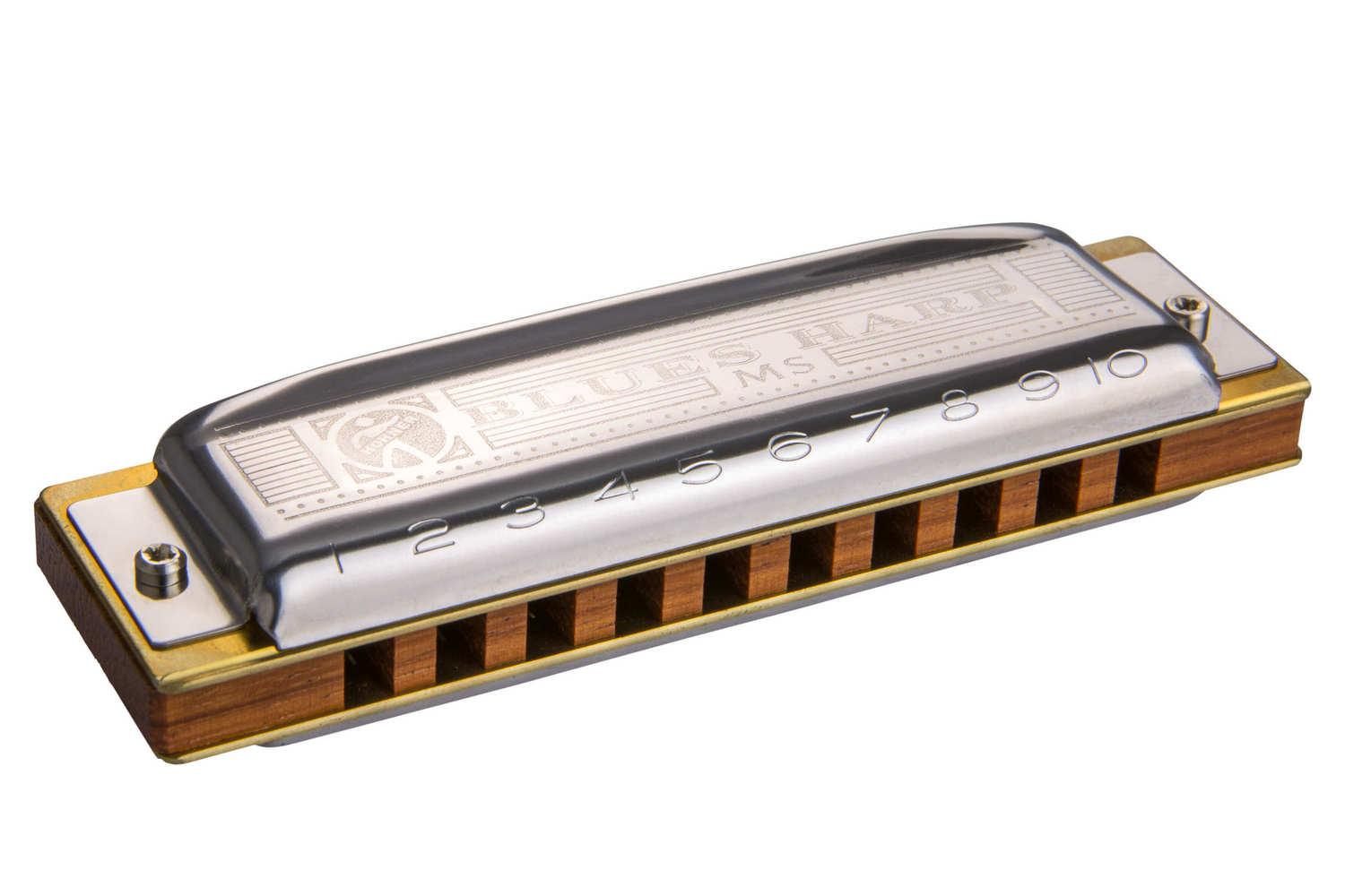 Губная гармошка HOHNER M533086 Blues Harp MS G