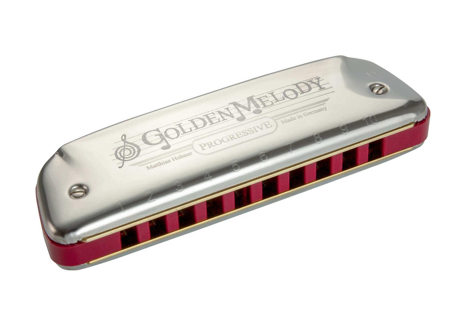 Губная гармошка HOHNER M542056 Golden Melody E