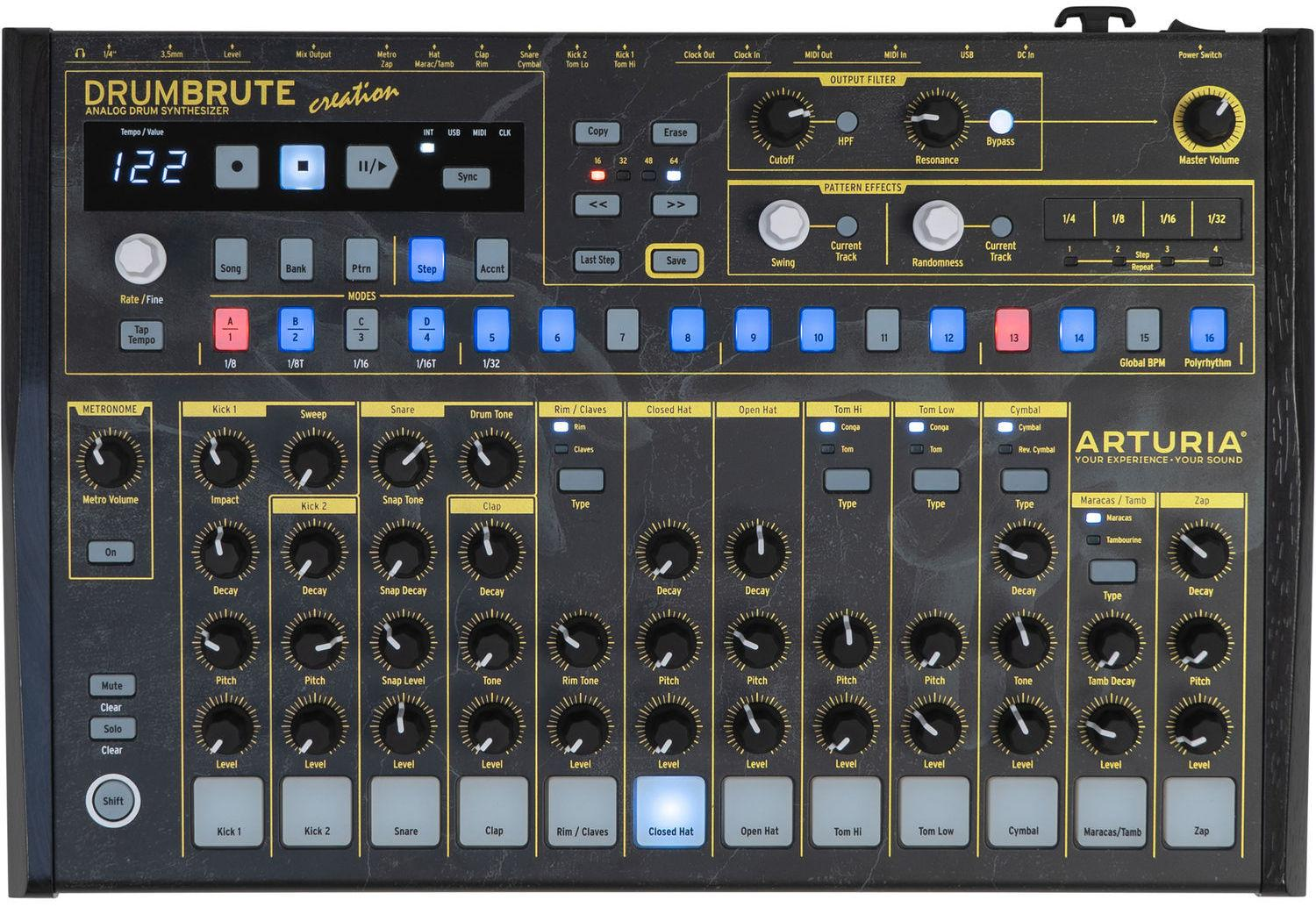 Синтезатор Arturia DrumBrute Creation Edition