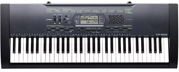 Синтезатор CASIO CTK-2000