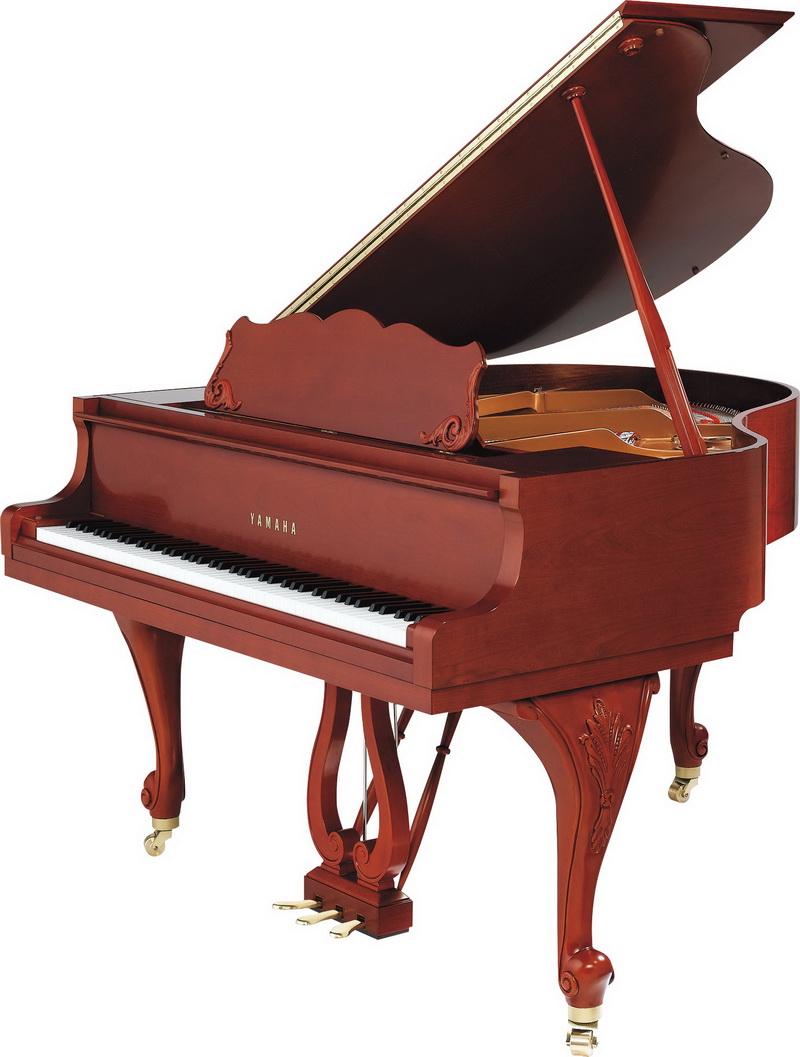 Поздравления юбилеем, картинки рояль